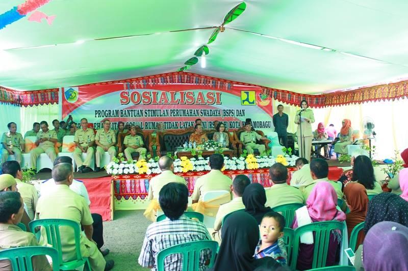 Sosialisasi program bsps dan rsrtlh