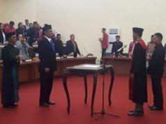 Gelar Rapat Paripurna, DPRD Bolmong Lantik Musli Sebagai Wakil Ketua