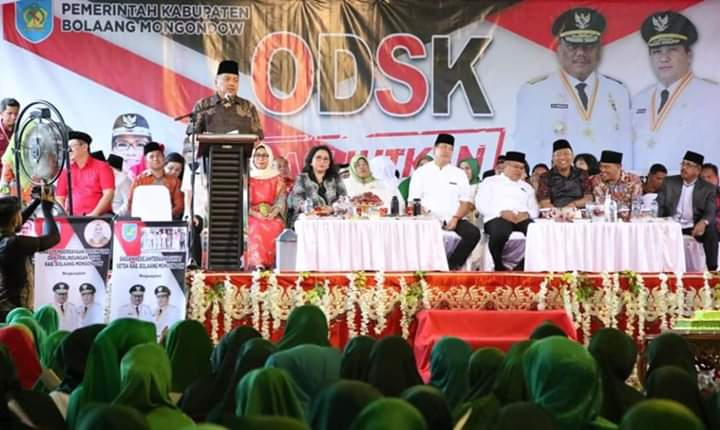 Yasti - Yanny dan Masyarakat Bolmong Sambut Kunjungan OD-SK Advertorial Bolmong