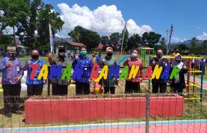 Wali Kota Kotamobagu Resmikan Taman Bermain Ramah Anak Advertorial