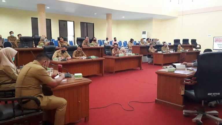Bapemperda DPRD Bolmong Matangkan Pembahasan Revisi RPJMD Advertorial Bolmong Headline