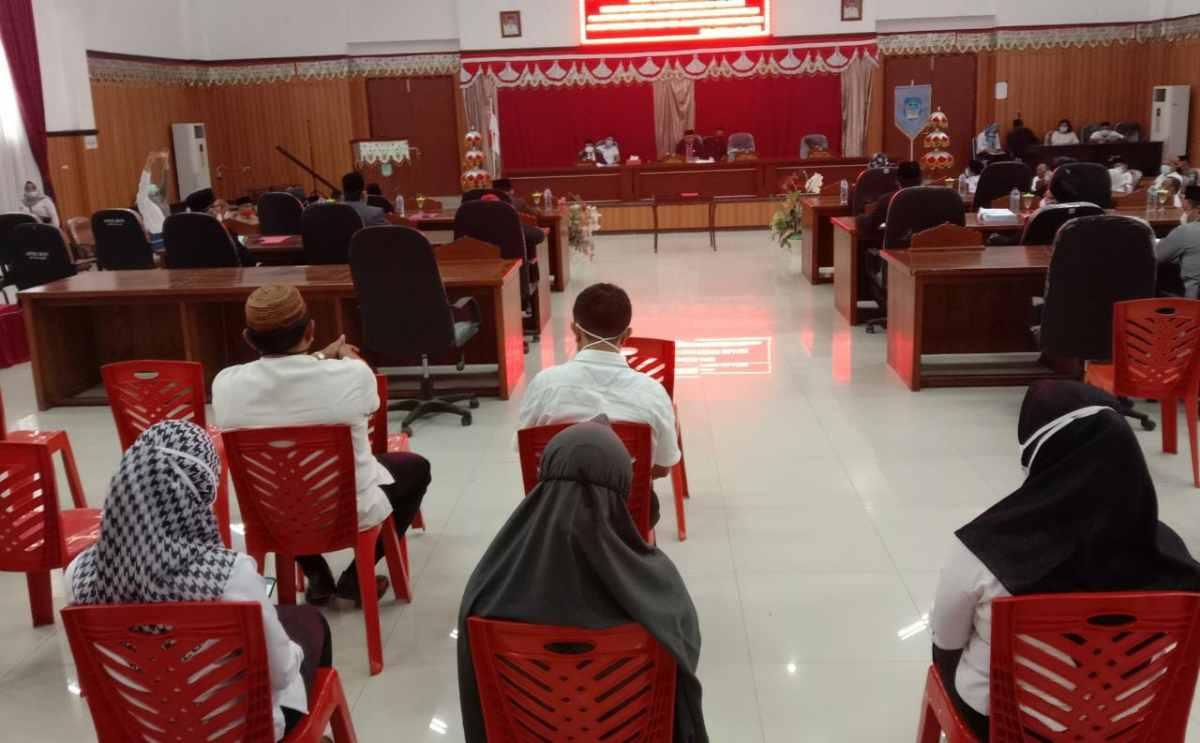 Pemkab dan DPRD Bahas Raperda APBD Bolsel Tahun 2021 Advertorial Bolsel Headline Terkini