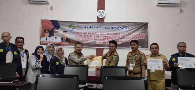 Pemkab Bolmong Resmi Umumkan Hasil Akhir Tes CPNS Tahun 2019 Advertorial Bolmong Headline